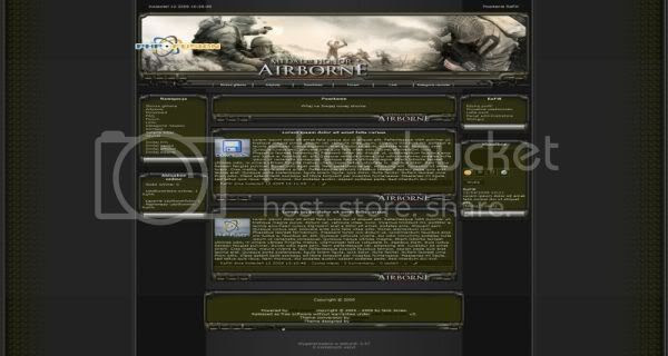 Free php-fusion Game Medail of Honore Web2.0 Theme