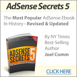 Adsense Secrets eBook by Joel Comm