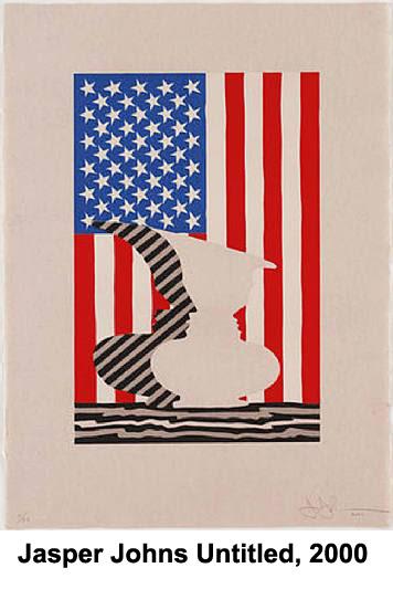 Jasper Johns Untitled 2000 offered by Joseph K. Levene Fine Art, Ltd.