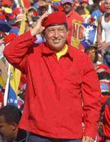 Venezuela's big man up front