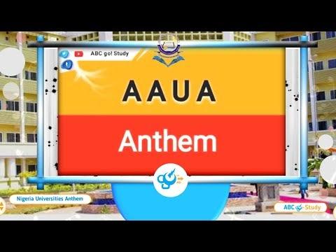 Adekunle Ajasin University Akungba AAUA Anthem