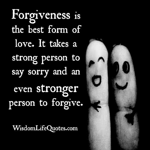 Forgiveness Is The Best Form Of Revenge