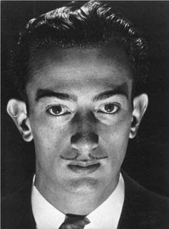 Salvador Dalí, Paris, 1929, by Man Ray