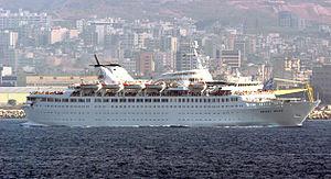 English: Mediterranean Sea (July 22, 2006) – T...