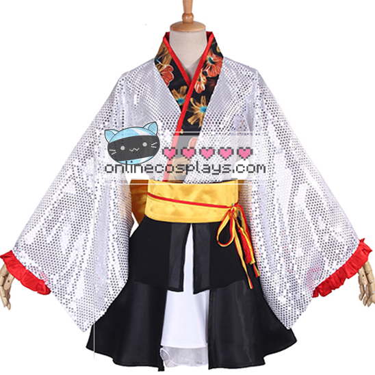 Love Live All Characters Sequin Kimono Cosplay Costume Oc3390