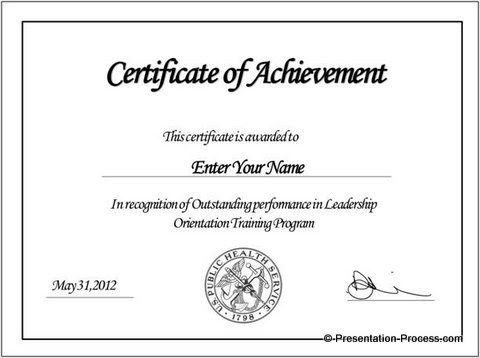Create PowerPoint Certificate Template Easily