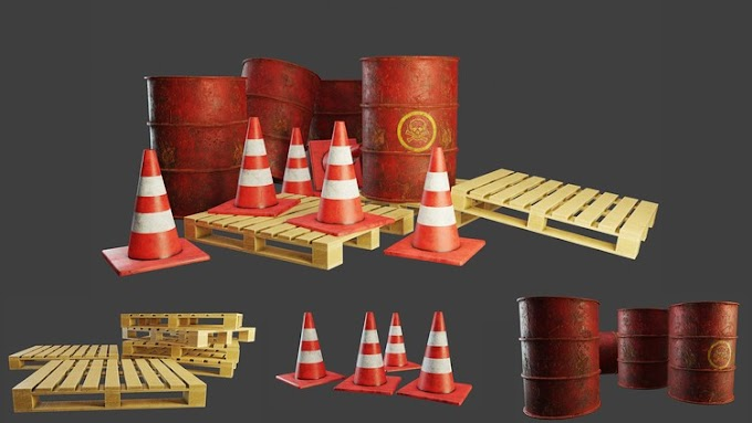 [100% Off UDEMY Coupon] - Low poly game assets using Blender 2.8 & Substance Painter