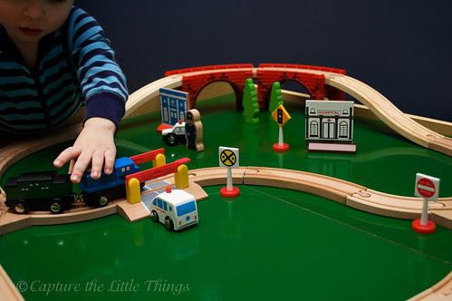 Little train set