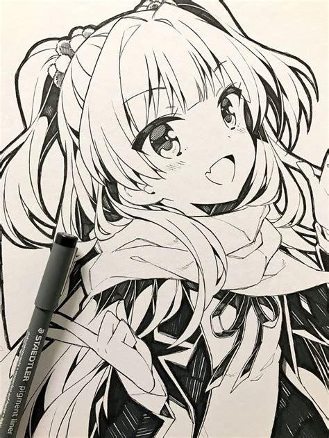 anime girl drawings ideas  pinterest kawaii