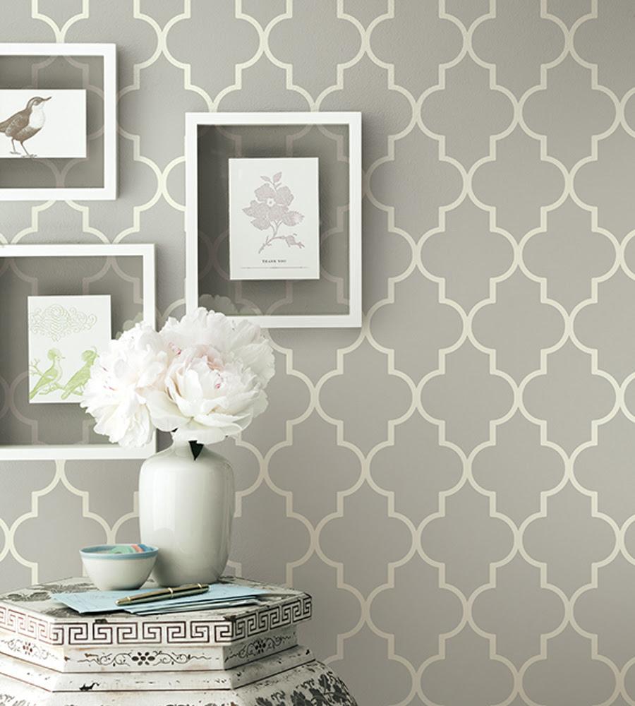 Trellis Wallpaper Living Room Homebase Wallpaper