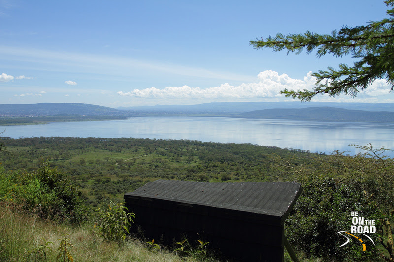 The 'Out of Africa' view inside Lake Nakuru National Park