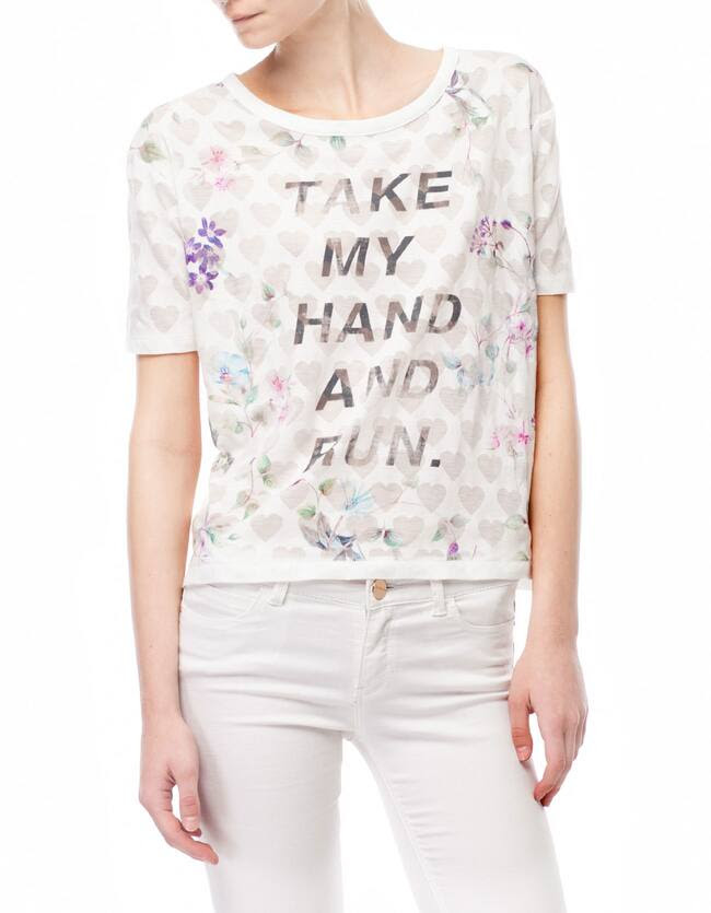 Camiseta devorada