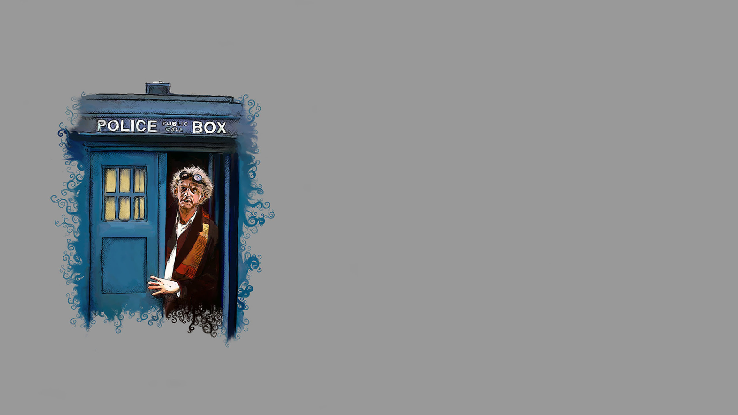 2560x1440 Doctor Who Back To The Future Desktop Pc And Mac Wallpaper