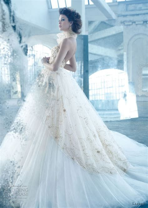 Lazaro Spring 2013 Wedding Dresses   Wedding Inspirasi