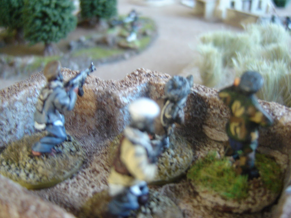 Reinforcements arrive to join in battle for farmhouse