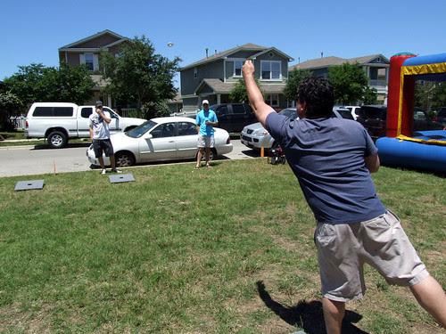 Washers Tournament @ Plum Creek's Front Porch Days 2010 (Kyle, Texas) by seanclaes