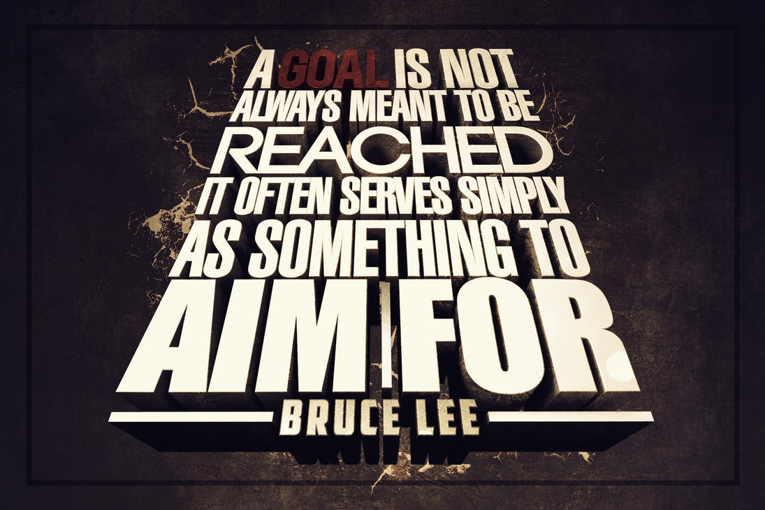 Goal Inspirational Quotes. QuotesGram