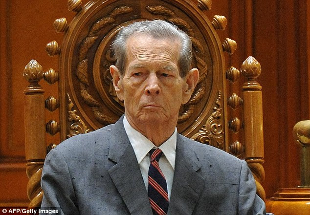 Image result for king of romania michael