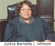 Justice Bernette J. Johnson
