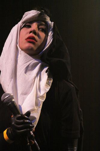Nun joins Rude Norton on stage