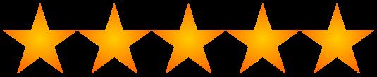 Resultado de imagen para cinco estrellas png