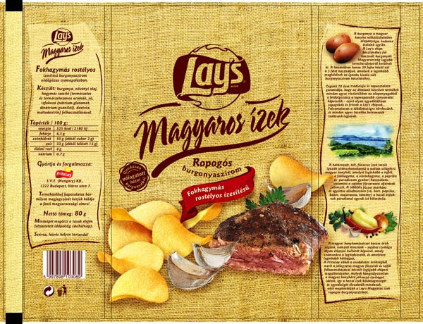 Lays Chips Packaging Design Magyaros 1 30+ Crispy Potato Chips Packaging Design Ideas