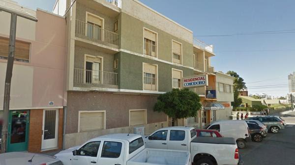El hotel San Justo dela localidad chubutense de Comodoro Rivadavia