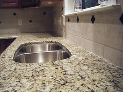 Granite Installation, Santa Cecilia Countertop...