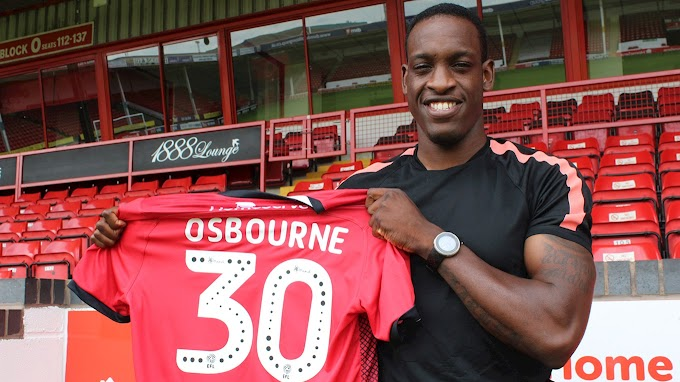 Osbourne Happy to be Back at the Bescot