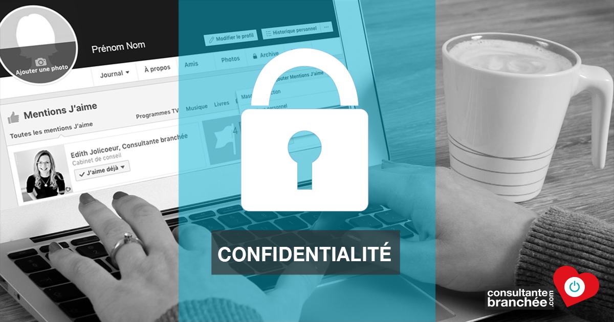 Facebook Contrôler La Confidentialité Des Mentions Jaime