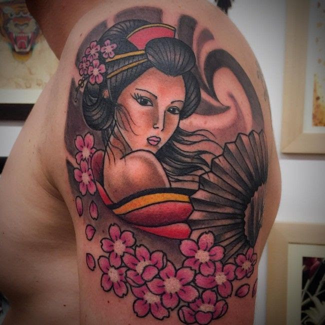 Tattoo Trends 50 Japanese Geisha Tattoo Meaning And Designs