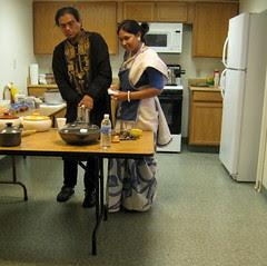 Arijit and Sangita begin class