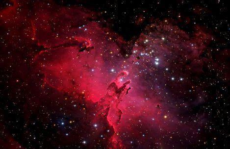 Red Nebula Galaxy Wallpaper   HDWallpaperFX