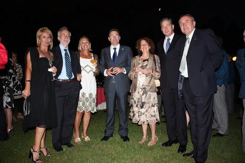 CINEGOURLAND 2009, con el Alcalde Imanol Landa