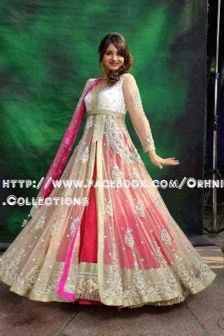 Orhni Boutique Embroidered Gowns Siuts Designs 2014/15 For