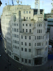 BBC Broadcasting House, from above