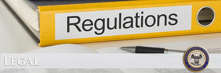 Mississippi Insurance Department - Regulations