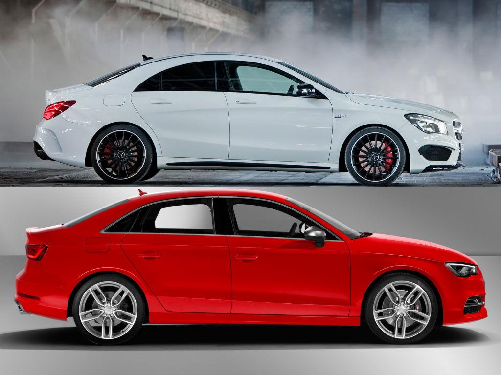 Mercedes-Benz CLA 45 AMG vs Audi S3 Speedo Acceleration ...