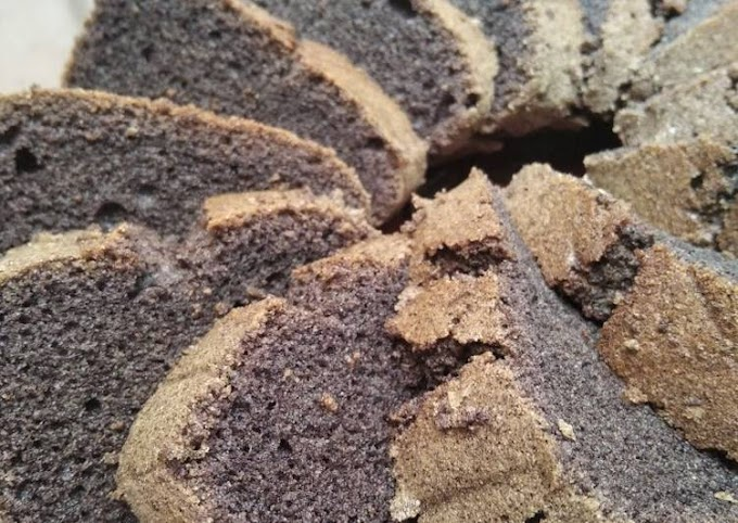 Cara Mudah Membuat Cake Ketan Hitam Yang Enak