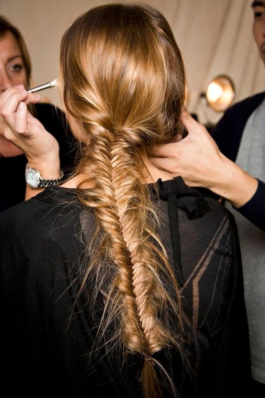19 Le Fashion Blog 21 Braid Ideas For Long Hair Romantic Fishtail Braided Ponytail Hairstyle Via Style Caster