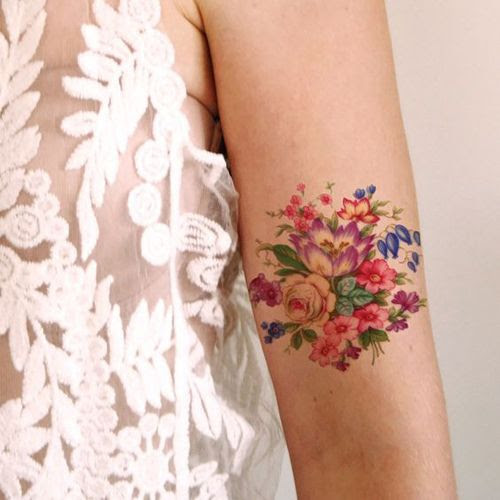 20 Gorgeous Flower Tattoo Designs For Female Styles Weekly