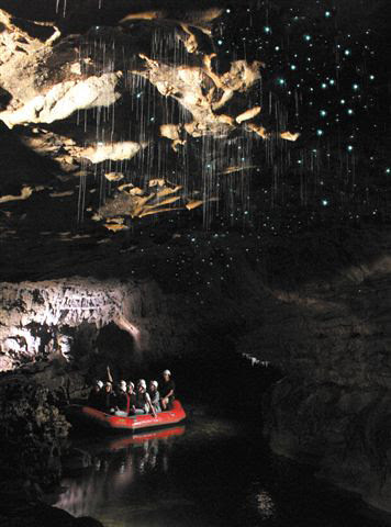 Spellbound's Red raft & glowworms
