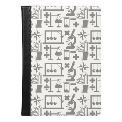 Science Biology Physics Geography Math Pattern iPad Air Case