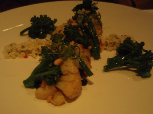 Cauliflower and Broccolini with Chili