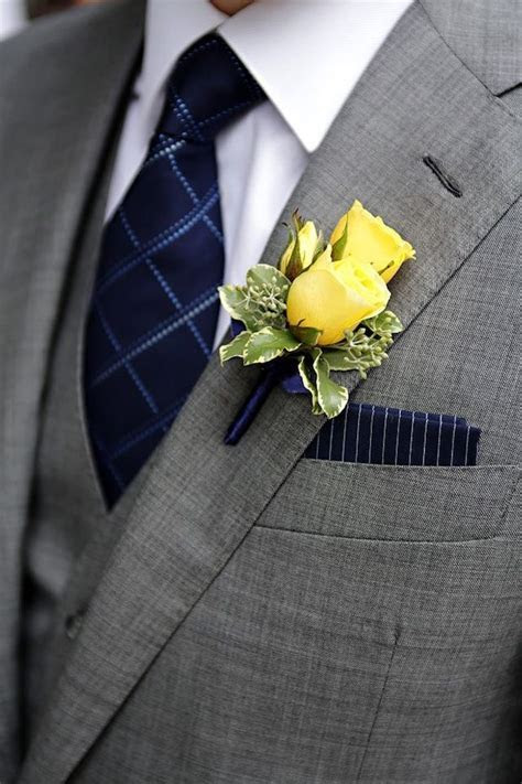 25  best ideas about Yellow Boutonniere on Pinterest