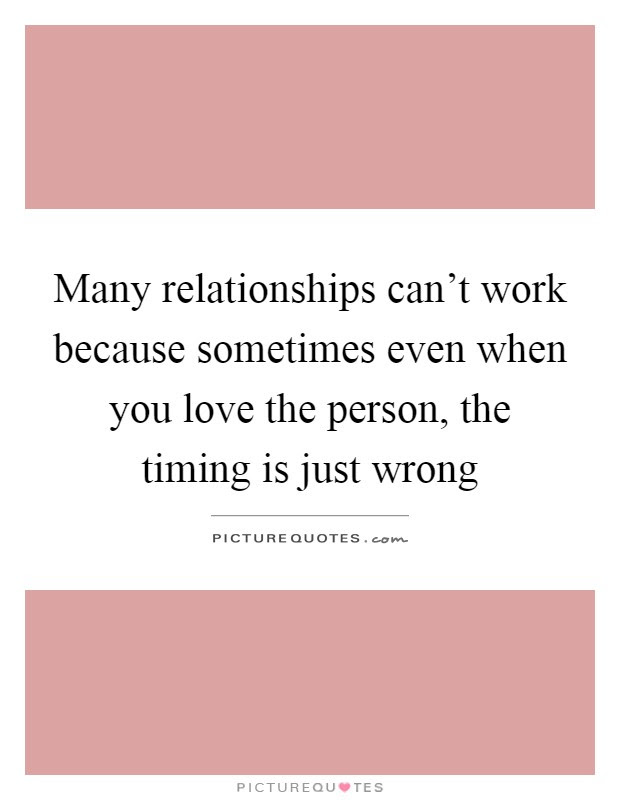 Relationships And Timing Enlightened Conflict