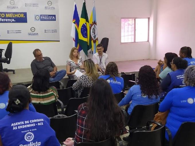 Saúde do Paulista monta cronograma de encontros com servidores da área para tratar do Coronavírus