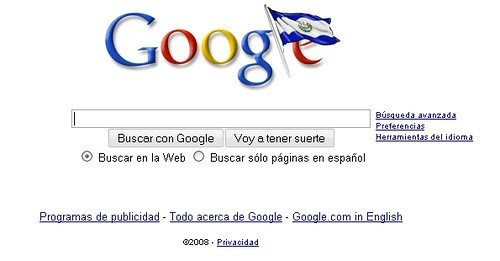 google el salvador