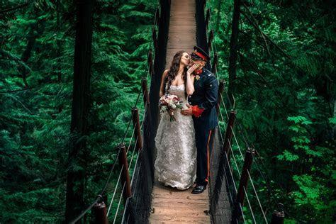 Capilano Suspension Bridge Wedding