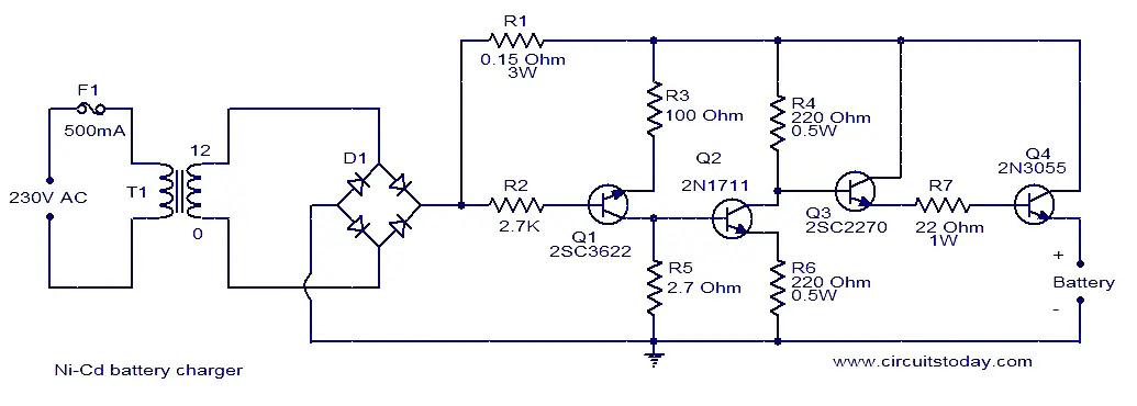 ni-cd-battery-charger-circuit